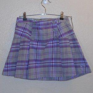 Le Tigre plaid mini skirt